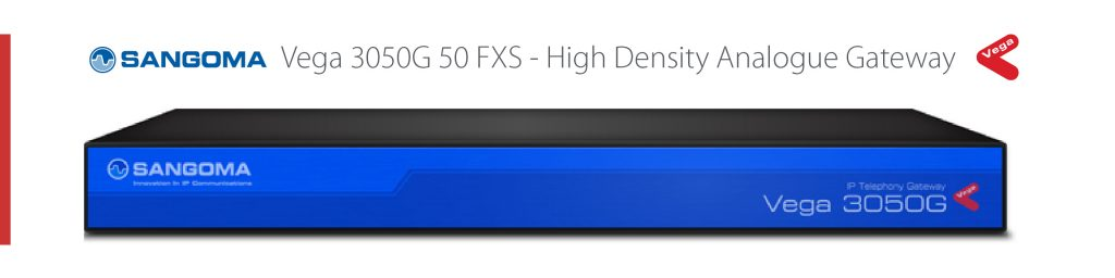 Vega 3050G 50 FXS Analogue Gateway