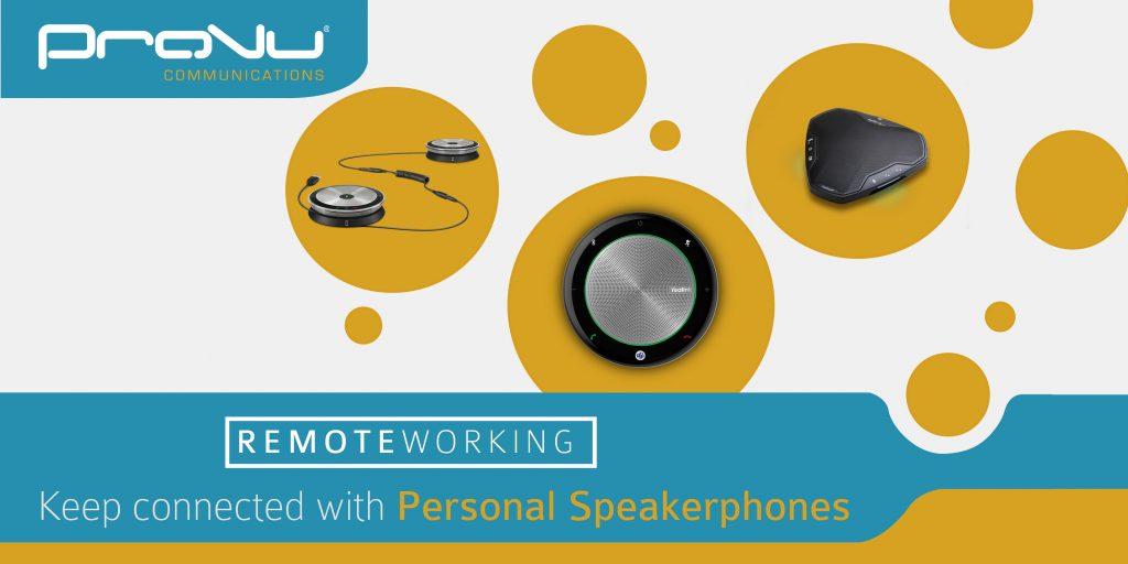 Speakerphones, a great alternative to a headset