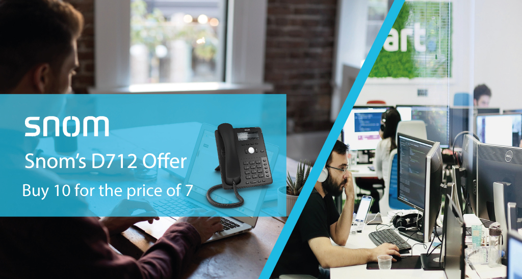Snom D712 Offer May/June 2020