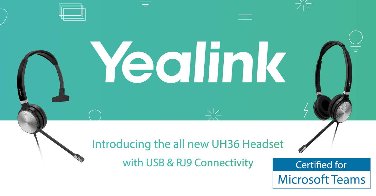 Yealink UH36 Headset Launch