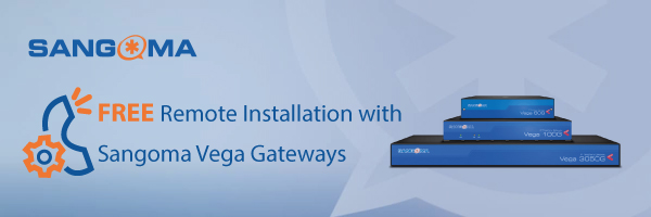 Sangoma Vega Gateway Installation Offer