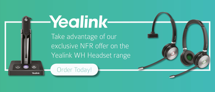 Yealink NFR Headset Offer